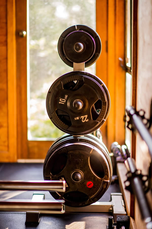 Free weights for strength and control