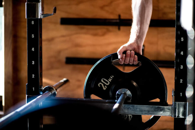 Weights bar for strength and mobility training